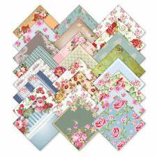 """DE 17 Blätter Rosen Design Papier Karten Scrapbooking 6x6"""" Craft Paper baaldes"""