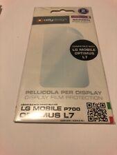 😍 ecran verre trempe protection téléphone lg optimus L7 p700 film protection