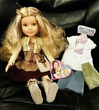 "BFC Ink Kaitlin 18"" Doll 2 Outfits Boots Purse Membership Card"