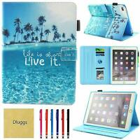 iPad 9.7 in. 5th & 6th Gen Case Lightweight Beach PU Leather iPad Air iPad Air 2