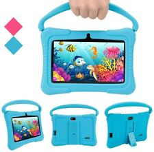 7'' Kids Educational Google Tablet Android 6.0 Quad Core Dual Camera WiFi 16GB