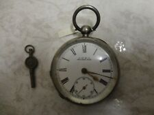 Antique Waltham Sterling silver pocket watch, working