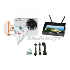 Walkera FPV iLook Camera with RX LCD5802 FPV Monitor and Carbon Fiber Holder