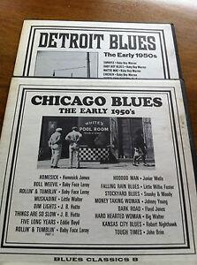 Blues Classics 8 & 12, Lot 2, LP 33 tours, The Early 1950's,  Chicago  & Detroit