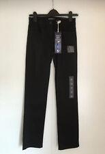M&S, Sculpt & Lift, Black Jeans, Size 8, Straight Leg, Medium, RRP £35, BNWT