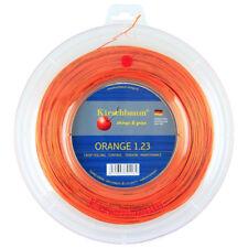 Kirschbaum Super Smash (Orange) 1.23mm/17 200m/660ft Tennis String Reel