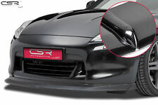 SPLITTER FRONT LIP CARBON LOOK FRONT BUMPER FOR NISSAN 370Z Z34 08-13 CSL166-C