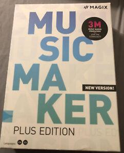 MAGIX Music Maker – Plus Edition – New Version Windows