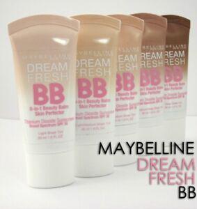 MAYBELLINE Dream Fresh 8 in 1 BB Cream 30ml SPF30 - CHOOSE SHADE - NEW Sealed