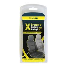 AUTO IN PELLE in vinile riparazione KIT Interni Sedile FIX più colori Tear SCUFF danni