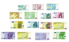 21 Euro's European Currency, Dolls House Miniature, Doll House Money. 1,12 Scale