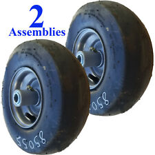 TWO 11x4.00-5 TIREs RIM WHEEL ASSEMBLY Zero Turn mower Ariens Smooth 3/4 ID P47