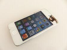 Apple iPod Touch 4. Generation 8GB weiß A1367 gebraucht Sprung #CCQGWK