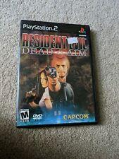 Resident Evil: Dead Aim (Sony PlayStation 2, 2003) Check Description