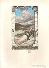 1905 victorian studio print ~ carte de noël design par r s angell