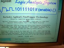AGILENT 16702B LOGIC ANALIZER TESTED GOOD MAIN FRAME