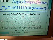 Agilent 16702b Logic Analizer Tested Good Main Frame