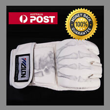 """""""WHITE"""" ufc style Gloves mma kick boxing bjj grappling fight sparring brand new"""