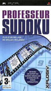 Professor Sudoku psp sony NUOVO SIGILLATO completamente Italiano gioco game