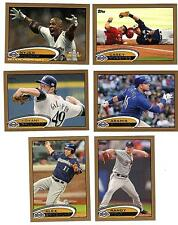 2012 Topps Gold Nyjer Morgan NLDS Game 5, #/2012 Milwaukee Brewers # 272