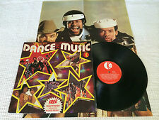 DANCE TO THE MUSIC + VILLAGE PEOPLE POSTER RARE VARIOUS ARTISTS OZ PRESS LP