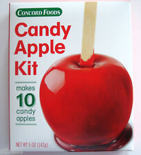CONCORD FOODS RED CANDY APPLE MIX KIT MAKES 10 CANDY APPLES