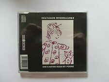 Television Personalities – She's Never Read My Poems - 1991 UK CD - Indie Pop!!