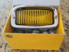 NOS HELLA HOODED FOG LIGHT PORSCHE 356 VW BUG OVAL SPLIT BUS BMW R 50 80 COX