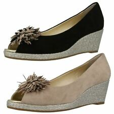 Van Dal Suede Wedge Heels for Women