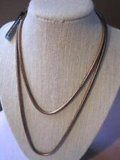 DYRBERG KERN Norway NEW Kaleidoscope Copper Plated  NECKLACE Orig $155.00