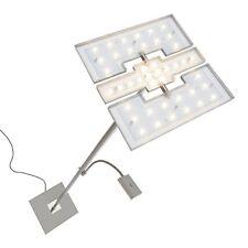 Briloner Leuchten Piantana LED Dimmerabile Piastre orientabili Braccio Let...