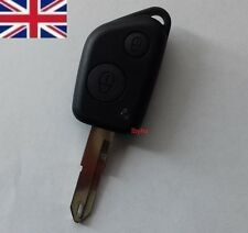 UK STOCK NEW Peugeot 106 205 206 306 405 406 2 BUTTON Remote Key FOB CASE SHELL
