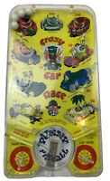 Vintage Crazy Car Race Toy Pinball Game, Punny Pinball, Sand Hogs vs. Lap Dogs