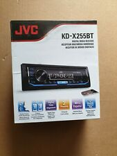 JVC KD-X255BT Ipod and Android Digital Media Bluetooth Car Stereo Audio Receiver