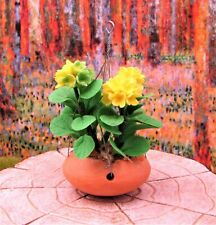 Miniature Fairy Garden Yellow Hanging Flowers - Buy 3 Save $5