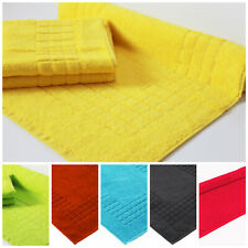 2 x Bath Mat Egyptian Cotton 700 GSM Yellow, Blue, Grey, Pink & many more colour