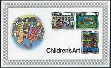 Singapore 287a sheet,MNH.Michel Bl.9. Children's drawings,l977.