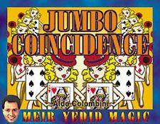Jumbo Coincidence By Aldo Colombini & Meir Yedid Magic Bicycle Card Tricks