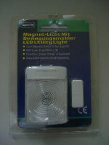 LED Magnet - Licht mit Bewegungsmelder, Schrank Leuchte, Schubladen Licht