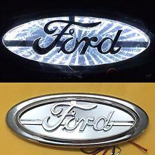 3D LED Car Tail Logo White Light for Ford Focus Mondeo Kuga Auto Badge Light