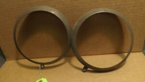 OEM Ford Tractor Headlight Rims Rings 2000 3000 4000 5000 7000 FoMoCo