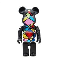 $90 Medicom BE@RBRICK 2016 Xmas Christmas Stained Glass Tree 400% Bearbrick