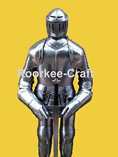 Medieval Knight Suit of Armor Medieval Combat Full Body Armour With Stand