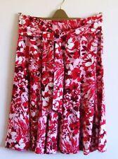 Per Una Knee Length Linen Flippy, Full Skirts for Women