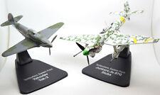 Yakovlev Yak-3 & Junkers Ju 87G Stuka 2 Plane Set 1:72 Scale Diecast Models JC21