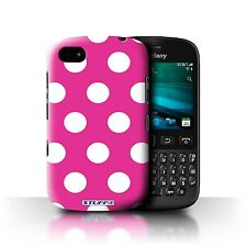 STUFF4 Phone Case for Blackberry Smartphone/Polka Dot Pattern/Protective Cover