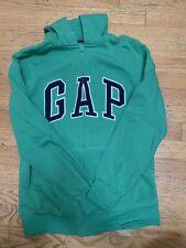 GAP Boys Hoodie Sweatshirt/ Size XXL: 14/16 : Kelly Green Color : Used But Good