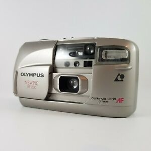 Olympus Newpic AF 200 APS Film Compact Camera Battery Tested - Working Vintage