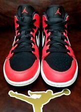 Air Jordan 1 Mid Infrared Size 2.5Y NEW!! Free Socks and Jumpman Sticker!!