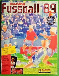 R@RO ALBUM CALCIATORI PANINI FUSSBALL 89-EDIZIONE TEDESCA- VUOTO-RIF.390